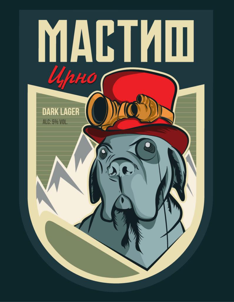 mastif pivo logo